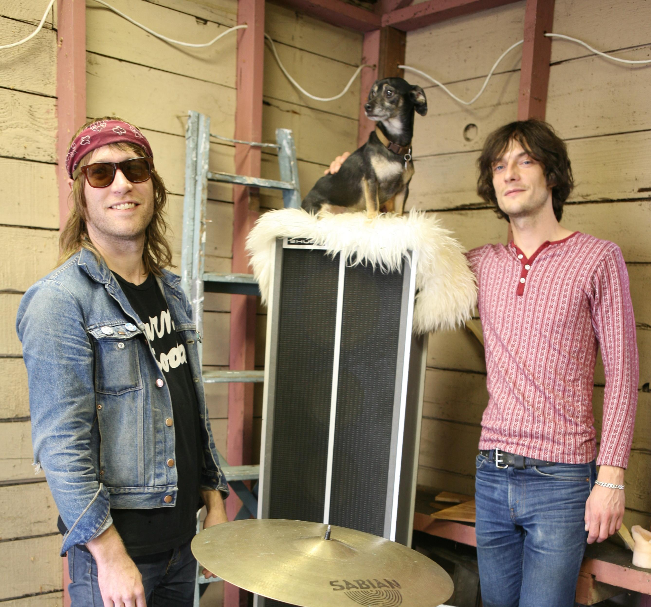 L-R: Shane, Boopis, Lars