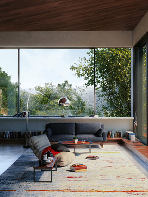 Cameron Highlands Retreat House Interior (Scene 2)