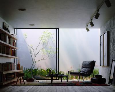 Japanese-Scandinavian Inspired Interior