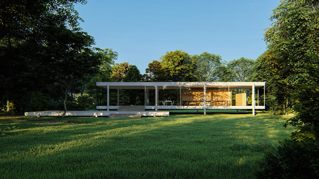 The Classic Farnsworth House