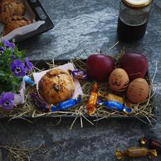 Osternest mit Crossbuns