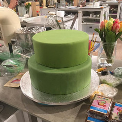 Det är mycket att tänka på när man gör en tårta