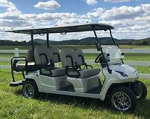 Star EV Sirius 4+2 golf cart. Franklin, TN Golf Carts