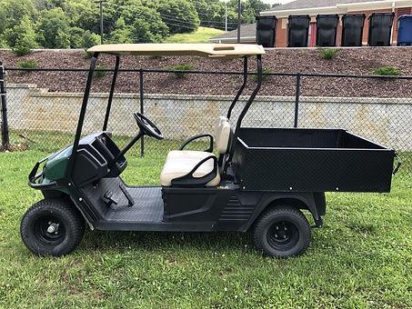 Cushman Hauler Pro 72V electric hauler golf cart