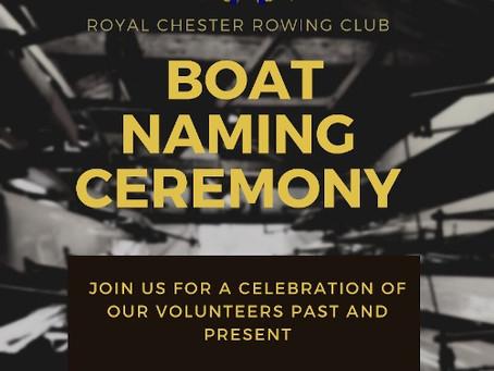 Boat naming ceremony