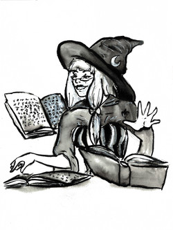Day 12 Book Witch