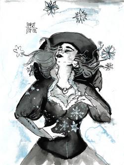 Day 9 Winter Witch