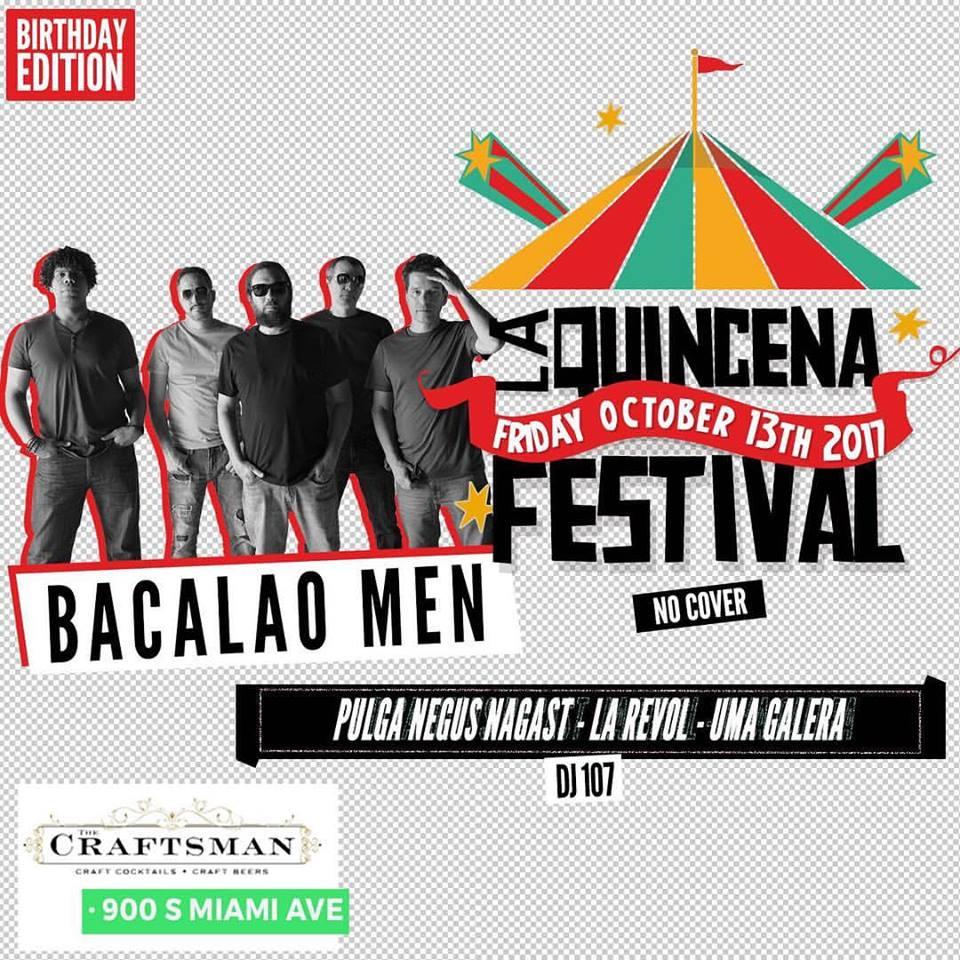 LA QUINCENA FESTIVAL OCT 2017