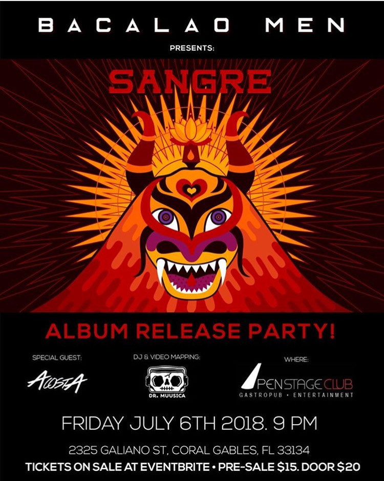 Showcase Album Sangre 2018