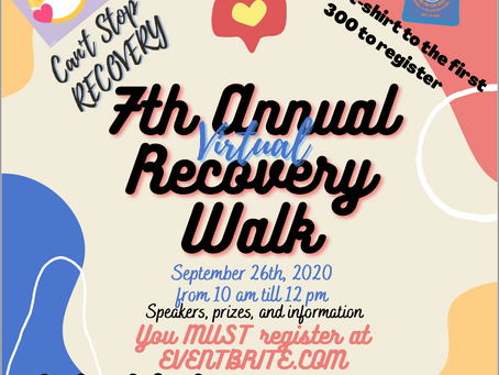 7th Annual Recovery Walk