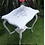 Thumbnail: Shabby chic stencilled side table
