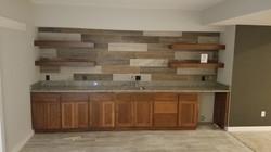 New Construction- basement bar