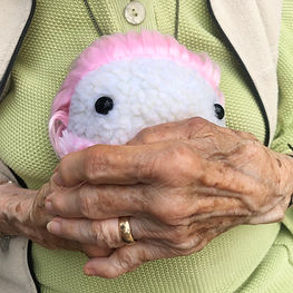 Mimbleball can help with elderly care such as Alzheimer's Disease and arthritis