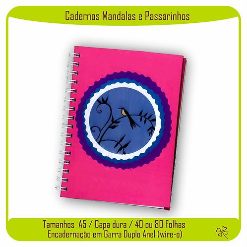 Caderno Mandalas e Passarinhos (Passarinhos)