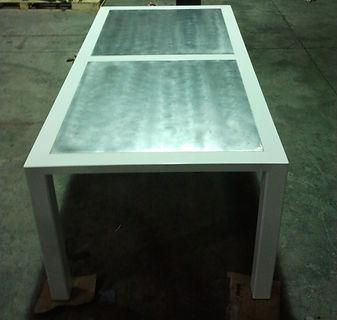 Table acier inox