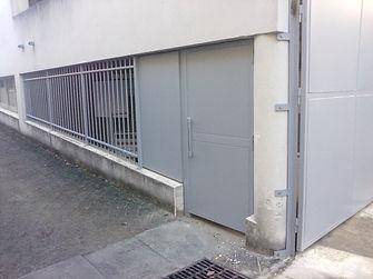 portail et portillon acier galva peint