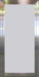 Porte profil inox brossé ou miroir