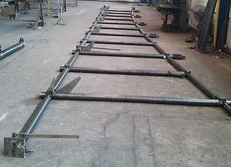 Structure verrière acier