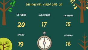 Senderismo 2019-2010