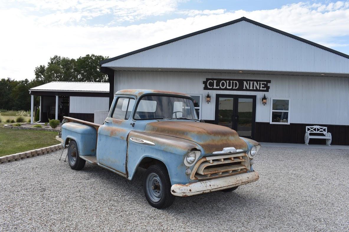 cloud nine venue wedding truck