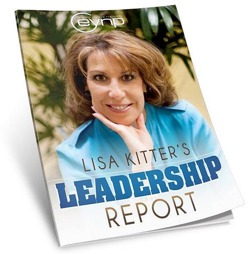 Lisa Kitter's Leadership Report