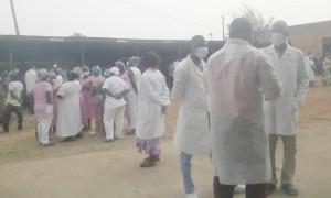 Coronavirus: Mouvement de débrayage des médecins à Dapaong