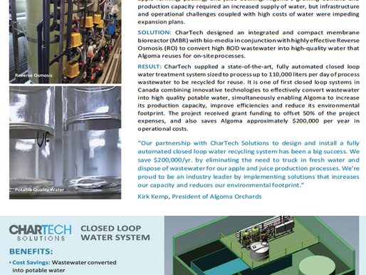 CHARTECH: Closed Loop Water System