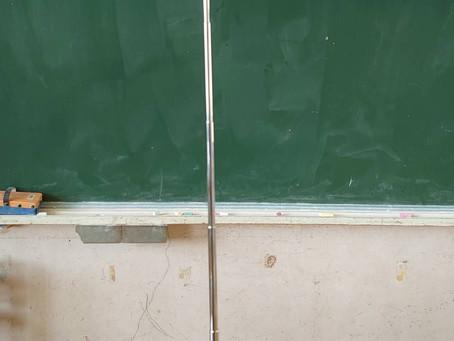 さつま町の中津川小学校にてダニの調査とホルムアルデヒドの測定を行いました。
