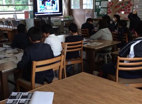 さつま町立中津川小学校にて薬物乱用防止の講話を行いました。