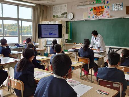 令和3年2月25日さつま町中津川小学校にて薬物乱用防止教室を行いました。