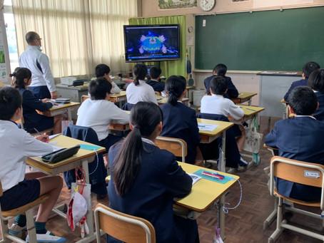 中津川小学校で薬物乱用防止教室を行いました。