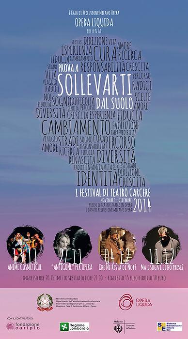 2° edizione Festival teatro carcere 2014 Opera Liquida