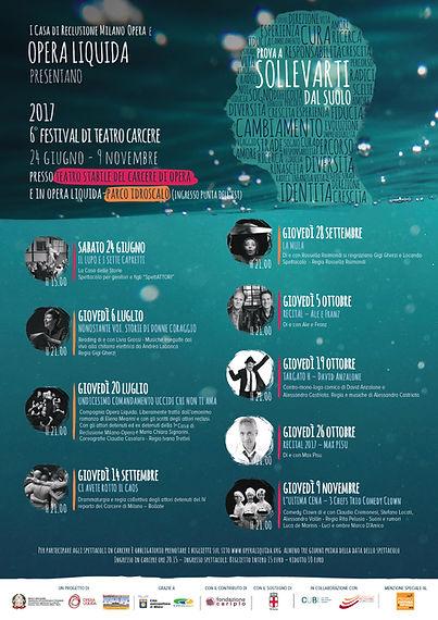 6° edizione Festival Prova a sollevarti dl suolo Opera Liquida