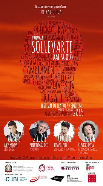 3° edizione Festival Prova a sollevarti dl suolo Opera Liquida