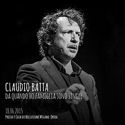 Da quando ho famigia sono single - Claudio Batta