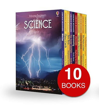 Usborne Beginners Science - 10 Book Collection