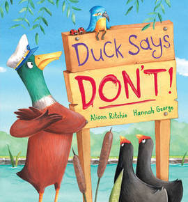 Duck Says Don't! (Picture Book and CD Set)