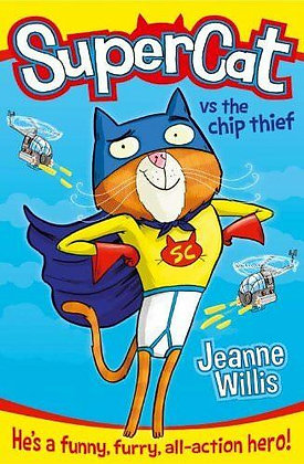 Super Cat vs the Chip Thief