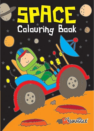 Space Colouring Book