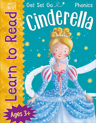 Get Set Go Learn To Read - Cinderella