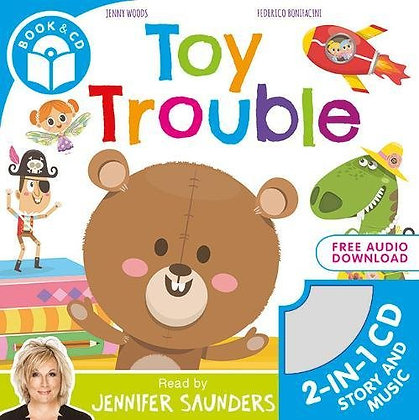 Toy Trouble (Book and CD)