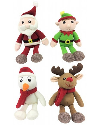 Knitted Christmas Soft Toy