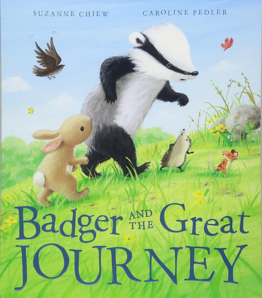 Badger and the Great Journey (Hardback)