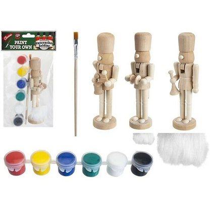 Paint Your Own Wooden Nutcracker Soldier