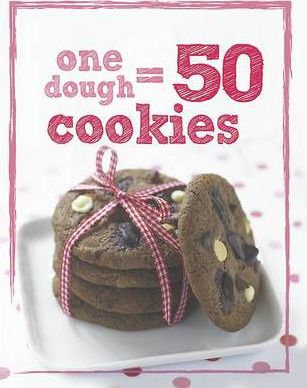 One Dough = 50 Cookies