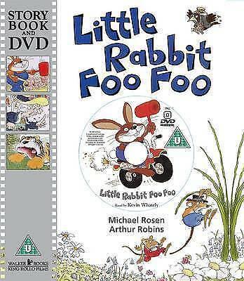 Little Rabbit Foo Foo (Story Book and DVD)