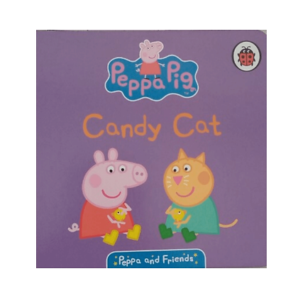 Candy Cat (A Peppa Pig Board Book)