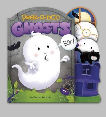 Peek-A-Boo Ghosts (Board Book)