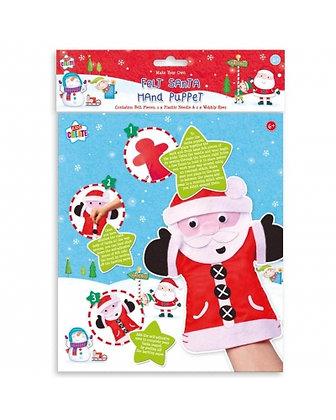 Felt Santa Hand Puppet
