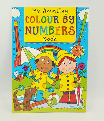 Colour By Numbers (Blue Cover)